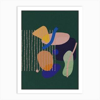Color Blocks B Art Print