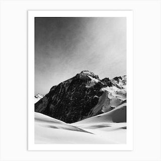 Winter Alps Ii Art Print