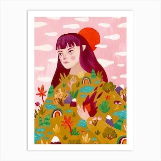 Inner Forest Art Print