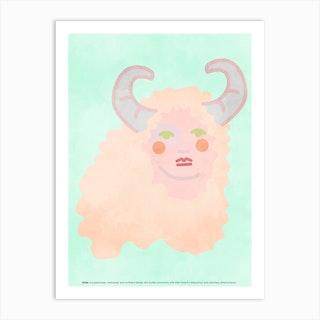 Aries 2 Art Print