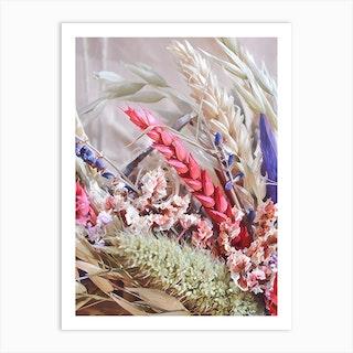 The Wild Wreath Art Print
