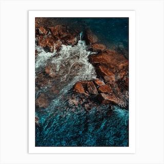 Abstract Water 3 Art Print
