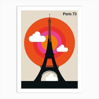 Paris 73 Art Print