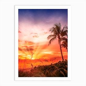 Bonita Beach Gorgeous Sunset Art Print