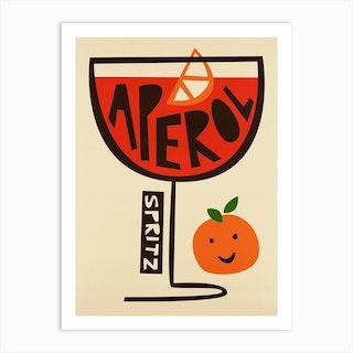 Aperol Spritz Art Print
