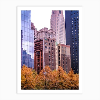 Fall New In York Art Print