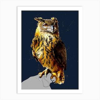 The Eagle Owl Art Print