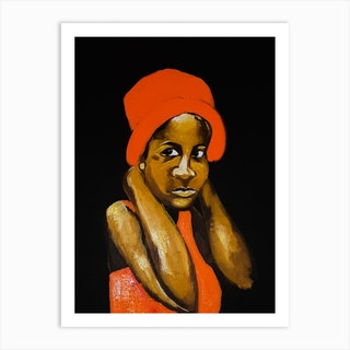 Black Girl You Will Be Loved Without Fight Art Print