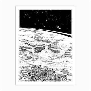 Space Upon Us Art Print
