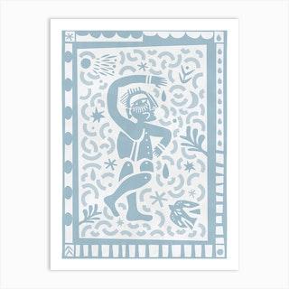 Karagiozis Art Print