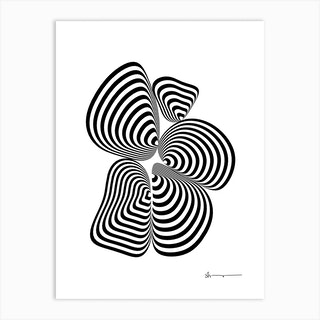 Centrally Focused Art Print