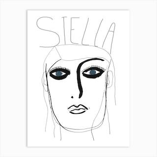 Stellar Stella Art Print