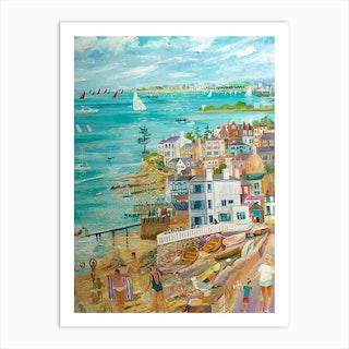 Seaview And Bembridge Art Print