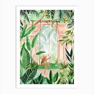 Jungle Swing Art Print