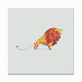 Lion  I Canvas Print