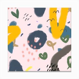 His Love Canvas Print