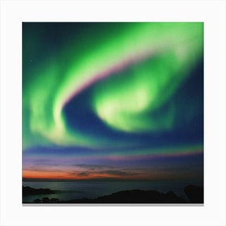 The Northern Lights 02 Canvas Print