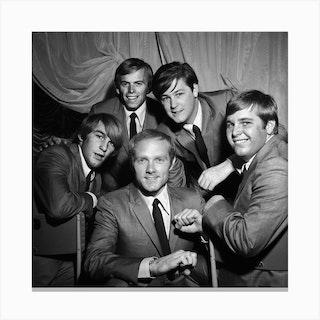 The Beach Boys, 1964 Canvas Print