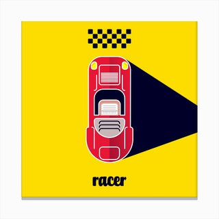 Racer Two Canvas Print