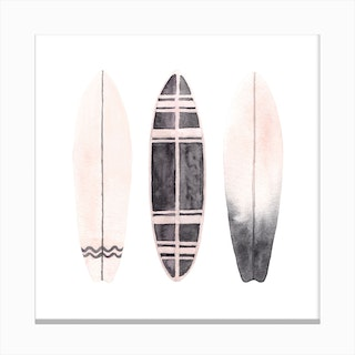 Surfboards2 Canvas Print