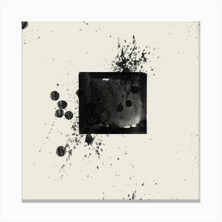 Abstract Study 3 Canvas Print