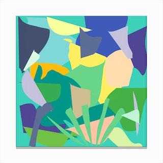 Garden In Paradise Canvas Print