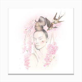 Cherry Blossom 2 Canvas Print