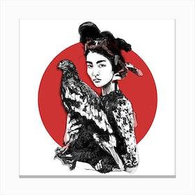Tokio Girl Canvas Print