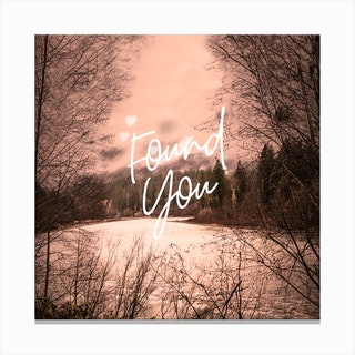 Found You Canvas Print