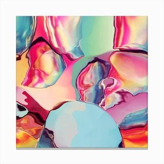 Cherry Boom Bubblegum Canvas Print