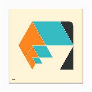 Cubes 5 Canvas Print