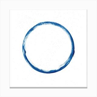 Full Circle 2 Square Canvas Print