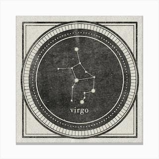 Zodiac Virgo Canvas Print