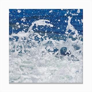 Super Splash 3 Canvas Print
