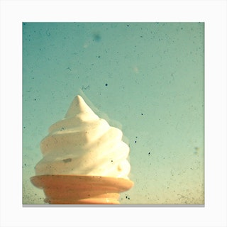 Ice Cream  I Canvas Print