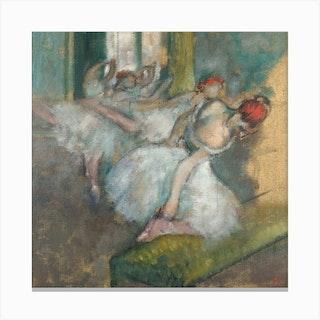 Ballet Dancers, Hilaire-Germain-Edgar Degas Canvas Print