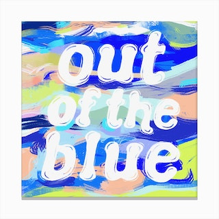 Out Of The Blue 2 Canvas Print