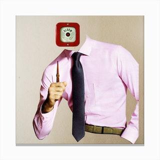The Alarm Buisiness Man Canvas Print