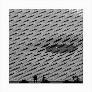 The BW Broad Canvas Print