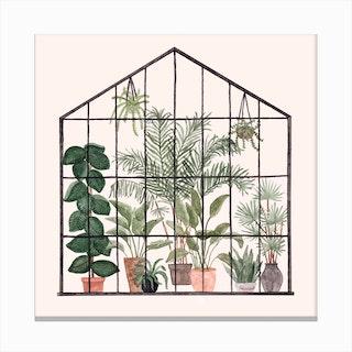 Greenhouse 1 Canvas Print
