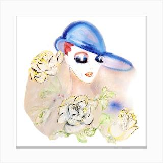 Lady Libra Canvas Print
