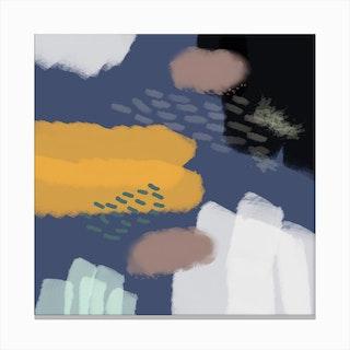 The Deep Blue World Canvas Print