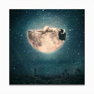 Moon Reverie Canvas Print