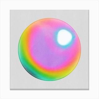 Holographic Sphere Canvas Print