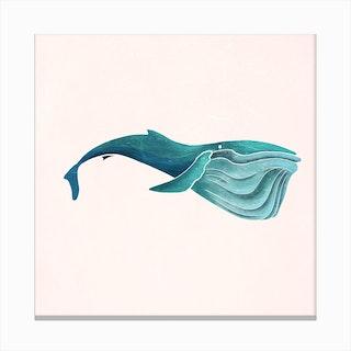 Whale II Canvas Print