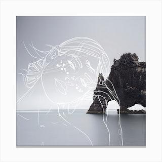 Ana Iceland Canvas Print