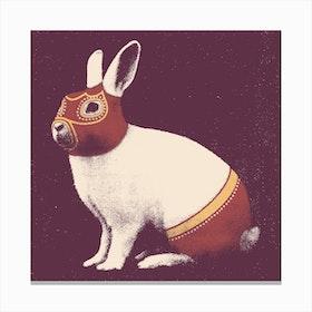 Wrestler Rabbit Canvas Print