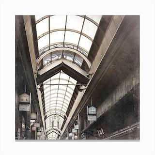 Japanese Market Canvas Print