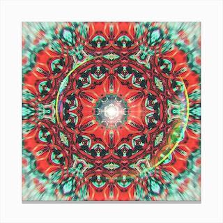 Abstract Mandala V Canvas Print