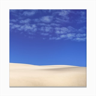 Giant Sand Dunes Canvas Print